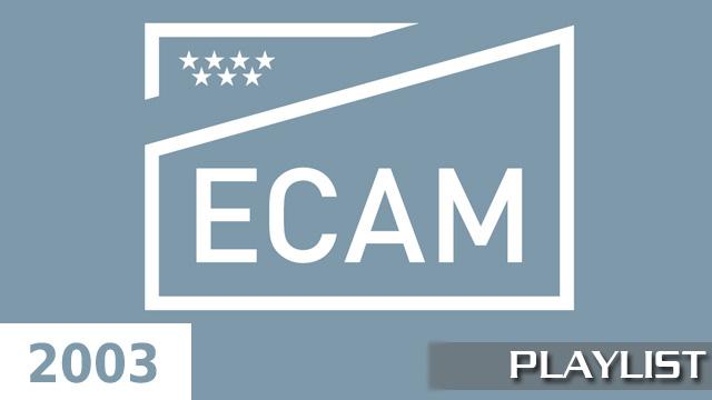 ECAM 2003. Cortometrajes online de alumnos de tercer curso 2003