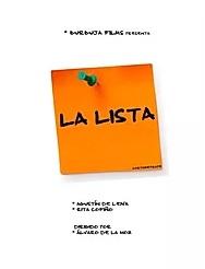 La lista corto cartel poster