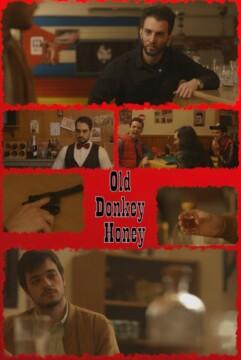 Old Donkey Honey corto cartel poster
