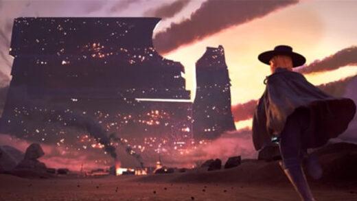 Sword west. Cortometraje de animación y western de ciencia ficción