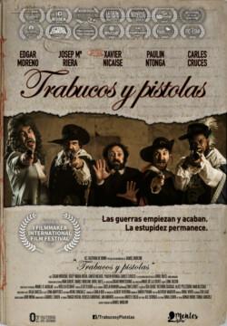 Trabucos y Pistolas corto cartel poster
