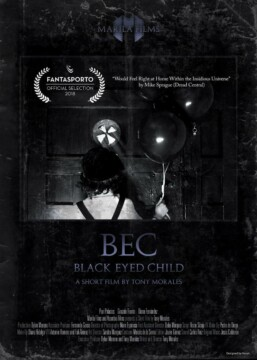 BEC (Black Eyed Child) corto cartel poster