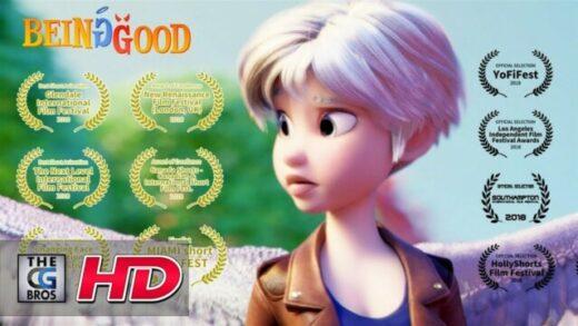 Ser bueno. Cortometraje de animación dirigido por Jenny Harder