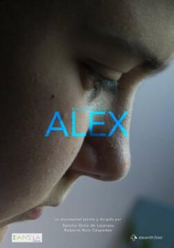 Siempre fui Alex corto cartel poster