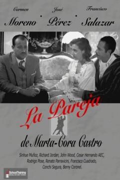 La pareja corto cartel poster