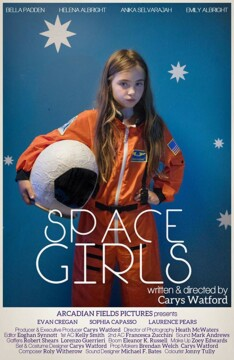 Space Girls corto cartel poster