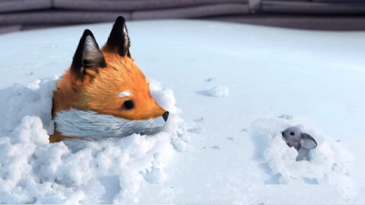The Short Story of a Fox and a Mouse. Cortometraje francés de animación