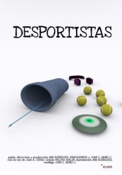 Desportistas corto cartel poster