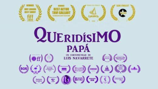 Queridísimo papá. Cortometraje español de Luis Navarrete