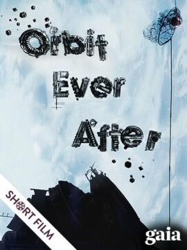 Órbita para siempre corto cartel poster