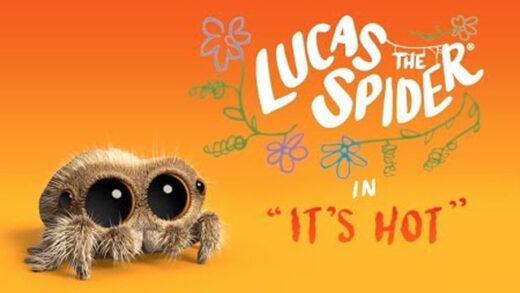 Lucas la araña - Hace Calor. Cortometraje de animación Joshua Slice