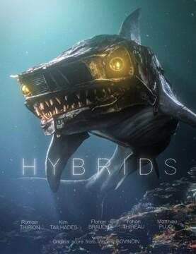 Hybrids corto cartel poster