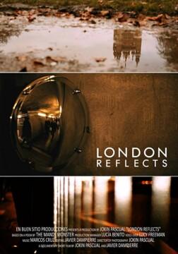 London Reflects corto cartel poster
