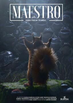 Maestro corto cartel poster