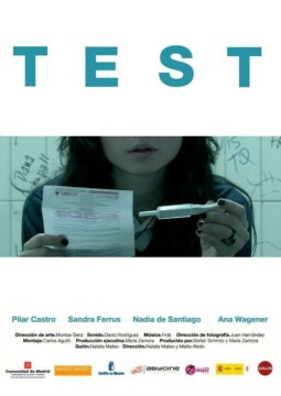 Test corto cartel poster