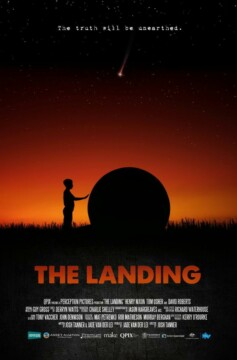 The landing corto cartel poster