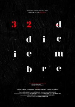 32 de diciembre corto cartel poster