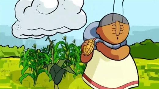 Abuela Grillo. Cortometraje chileno de animación de Denis Chapon