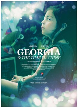 Georgia & the Time Machine corto cartel poster