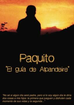 Paquito, el guía de Alpandeire corto cartel poster