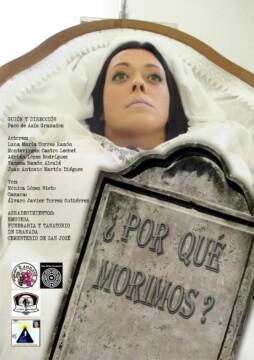 Por que morimos corto cartel poster