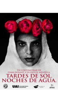 Tardes De Sol Noches De Agua corto cartel poster