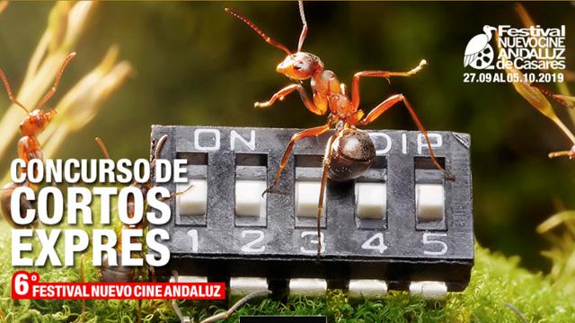"""VI Concurso """"Cortos Exprés Nuevo Cine Andaluz"""" de Casares"""