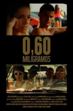 0,60 miligramos corto cartel poster
