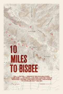 10 Miles to Bisbee corto cartel poster