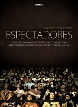 Espectadores corto cartel poster