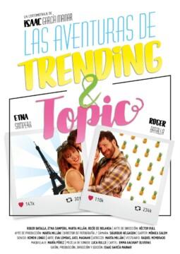 Las aventuras de Trending & Topic corto cartel poster
