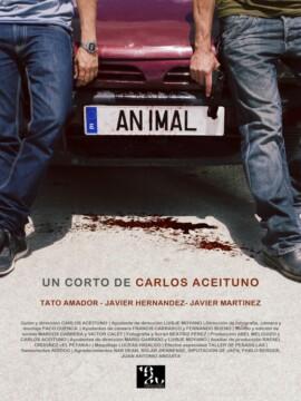 Animal corto cartel poster