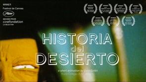 Historia del desierto. Cortometraje de animación stop motion Celia Galán
