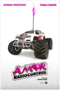 Amor radiocontrol corto cartel poster