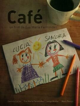 Café corto cartel poster