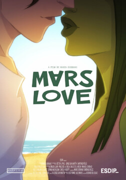 Mars Love corto cartel poster