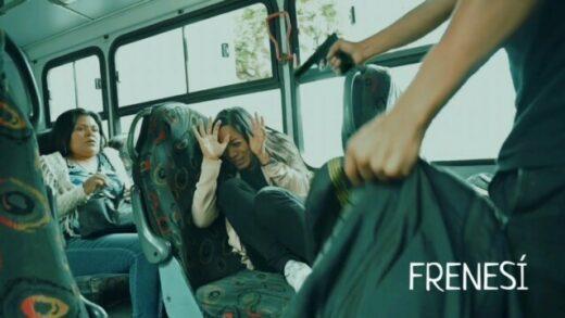 Frenesí. Cortometraje mexicano y thriller de acción de Alejandro Chávez