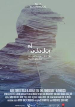 El nadador corto cartel poster