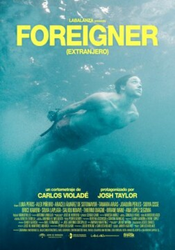 Foreigner corto cartel poster