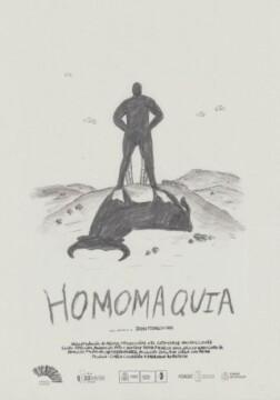Homomaquia corto cartel poster