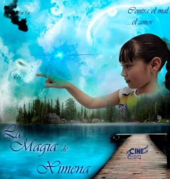 La magia de Ximena corto cartel poster