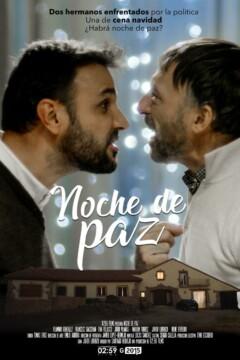 Noche de paz corto carteo poster