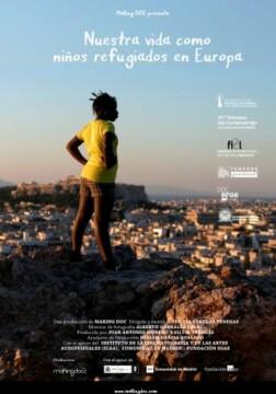 Nuestra vida como niños refugiados en Europa corto cartel poster