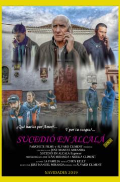 SUCEDIÓ EN ALCALA Express corto cartel poster
