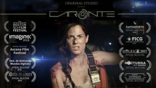 Caronte. Cortometraje de cine fantástico y drama de Luis Tinoco