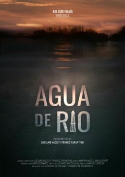 Agua de río corto cartel poster