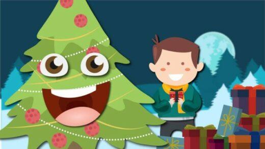 La verdadera historia del Árbol de Navidad. Cortometraje de navidad
