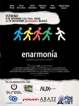 Enarmonia corto cartel poster
