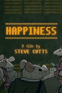 Happiness corto cartel poster