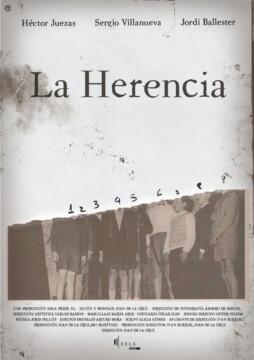 La herencia corto cartel poster